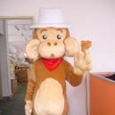 Walking Cartoon Doll Clothing Cartoon Show Clothing Children Cartoon Clothing Cartoon Monkey with Big Ears Mascot Costume