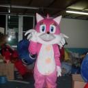 Cartoon Costumes Walking Cartoon Doll Cartoon Doll Clothing Cartoon Costumes Red Fox Mascot Costume