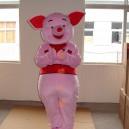 Supply Cartoon Costumes Walking Cartoon Doll Clothing Cartoon Costumes Cartoon Doll Pink Pig Mascot Costume