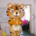 Supply Cartoon Costumes Walking Cartoon Doll Clothing Cartoon Costumes Tiger Mascot Costume