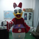 Supply Cartoon Costumes Walking Cartoon Doll Clothing Donald Duck Cartoon Costumes Japanese Package Mascot Costume