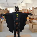 Supply Character Costume Cartoon Doll Clothing Cartoon Clothing Cartoon Costumes Batman Mascot Costume