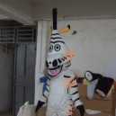 Supply Walking Cartoon Doll Clothing Cartoon Show Clothing Cartoon Zebra Cartoon Costumes Mascot Costume