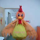 Supply Walking Cartoon Doll Clothing Cartoon Show Clothing Stage Clothing Cartoon Doll Clothing Chicken Mascot Costume