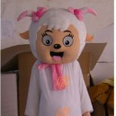 Supply Cartoon Costumes Walking Cartoon Doll Cartoon Doll Clothing Cartoon Costumes Beautiful Sheep Mascot Costume