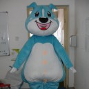 Cartoon Costumes Walking Cartoon Doll Clothing Cartoon Costumes Cartoon Doll Blue Dog Mascot Costume