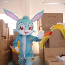 Supply Cartoon Costumes Walking Cartoon Doll Clothing Cartoon Costumes Cartoon Rabbit Dolls Mascot Costume