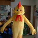 Supply Cartoon Costumes Walking Cartoon Doll Clothing Cartoon Costumes Chicken Mascot Costume