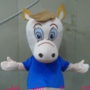 Supply Cartoon Costumes Walking Cartoon Doll Clothing Theatrical Costume Television Animation Horse Doll Clothing Mascot Costume