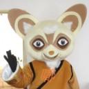 Supply Doll Clothing Walking Cartoon Film and Television Animation Kung Fu Panda Costume Master Rat Saliva Mascot Costume