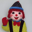 Supply Hair Clown Walking Cartoon Doll Clothing Cartoon Show Cartoon Clown Doll Clothing Mascot Costume