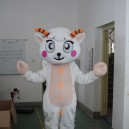 Supply Sheep Walking Cartoon Doll Clothing Apparel Animal Shows A Zodiac Sheep Mascot Mascot Costume