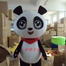 Supply Walking Cartoon Doll Clothing Cartoon Panda Plush Toys Dolls and Big Eyes Jingjing Mascot Costume