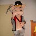Supply Walking Cartoon Doll Clothing Cartoon Show Clothing Cartoon Children Cartoon Clothing Pig Mascot Costume
