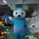 Supply Cartoon Doll Clothing Cartoon Show Clothing Apparel Clothing Blue Mouse Cartoon Animation Film Mascot Costume