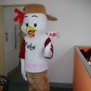 Supply Cartoon Doll Clothing Cartoon Show Clothing Apparel Clothing Film and Television Animation Cartoon Chicken Mascot Costume