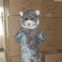 Supply Walking Cartoon Doll Clothing Cartoon Show Clothing Cartoon Cartoon Costumes Leopard Mascot Costume
