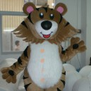 Supply Walking Cartoon Doll Clothing Cartoon Show Clothing Cartoon Cartoon Costumes Yeah Tiger Mascot Costume