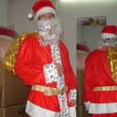 Supply Cartoon Costumes Walking Cartoon Doll Cartoon Doll Clothing Cartoon Costumes Beard Santa Claus Hat Mascot Costume
