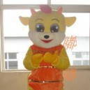 Supply Cartoon Costumes Walking Cartoon Doll Cartoon Doll Clothing Cartoon Costumes Golden Cat Mascot Costume