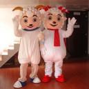 Supply Cartoon Costumes Walking Cartoon Doll Clothing Cartoon Costumes Beautiful Sheep Pleasant Mascot Costume