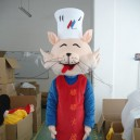 Supply Cartoon Costumes Walking Cartoon Doll Clothing Cartoon Costumes Chef Cat Mascot Costume