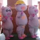 Supply Cartoon Costumes Walking Cartoon Doll Clothing Cartoon Costumes Dolls Mcdull Cartoon Pig Mascot Costume