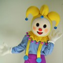 Supply Clown Cartoon Dolls Clothing Walking Cartoon Character Show Clown Doll Clothing Cartoon Collectibles Mascot Costume