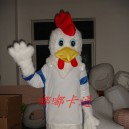 Supply Walking Cartoon Doll Clothing Cartoon Show Clothing Anime Stage Costume Playful Chicken Mascot Costume