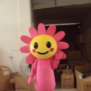 Supply Walking Cartoon Doll Clothing Cartoon Show Clothing Sunshine Girl Flowers Mascot Costume