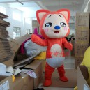 Supply Walking Cartoon Doll Clothing Cartoon Show Clothing Tanuki Mascot Costume