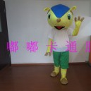 Supply 2015 Brazil World Soccer Mascot Walking Cartoon Doll Clothing Doll Clothing Cartoon Show Clothing Road Mascot Costume