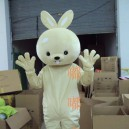 Supply Cartoon Costumes Walking Cartoon Doll Clothing Rabbit Mascot Costume