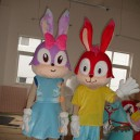 Supply Manufacturers Sold Clothing Walking Cartoon Cartoon Doll Clothing Cartoon Costumes Cartoon Mascot Dolls Rabbit Mascot Costume