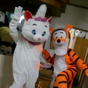 Supply Manufacturers Sold Clothing Walking Cartoon Cartoon Doll Clothing Cartoon Costumes Magic Cat Tigger Mascot Costume