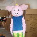 Supply Walking Cartoon Doll Clothing Cartoon Show Clothing Stage Costumes Cartoon Pig Doll Clothes Cocoa Mascot Costume