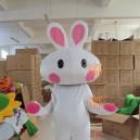 Supply Walking Cartoon Doll Clothing Cartoon Show Clothing The Bulk of Rabbit Mascot Costume