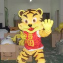 Supply Cartoon Costumes Walking Cartoon Doll Cartoon Doll Clothing Cartoon Costumes Blessing Tiger Mascot Costume