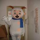 Cartoon Costumes Walking Cartoon Doll Cartoon Doll Clothing Cartoon Costumes Pleasant Mascot Costume