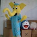 Supply Cartoon Costumes Walking Cartoon Doll Clothing Cartoon Costumes Elephant Mascot Costume