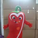 Supply Cartoon Costumes Walking Cartoon Doll Clothing Cartoon Costumes Southern Pepper Mascot Costume