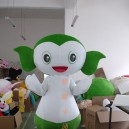 Supply Cartoon Costumes Walking Cartoon Walking Doll Clothing Doll Clothing Small Green Mascot Costume