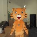 Supply Performance Clothing Walking Cartoon Animal Cartoon Costumes Cartoon Doll Clothing Cartoon Tiger Kitchen Cincinnati Mascot Costume