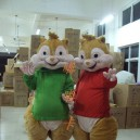 Supply Walking Cartoon Doll Clothing Cartoon Show Clothing Hairy Flower Squirrel Mascot Costume