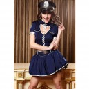 Supply Unique Heart - Shaped Police Uniforms Sexy Police Uniform Stage Equipment Halloween Costume