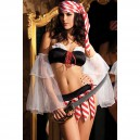 Supply Autumn and Winter Halloween Costume Pirate Queen Performing Stage