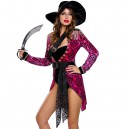 Supply Europe and The United States Halloween Sexy Rogue Caribbean Female Pirate Game Stage Performance Clothing Halloween Costume