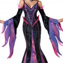 European and American Halloween Witch Dress Harness Fishtail Skirt Stage Clothing Halloween Costume