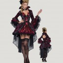 Supply Halloween Witch Vampire Bad Heart Devil Wife Stage Costume Halloween Costume