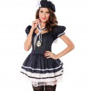 Supply Halloween Europe and The United States Ghost Festival Pirate Sailor Pack Plus Size Game Uniform Halloween Costume